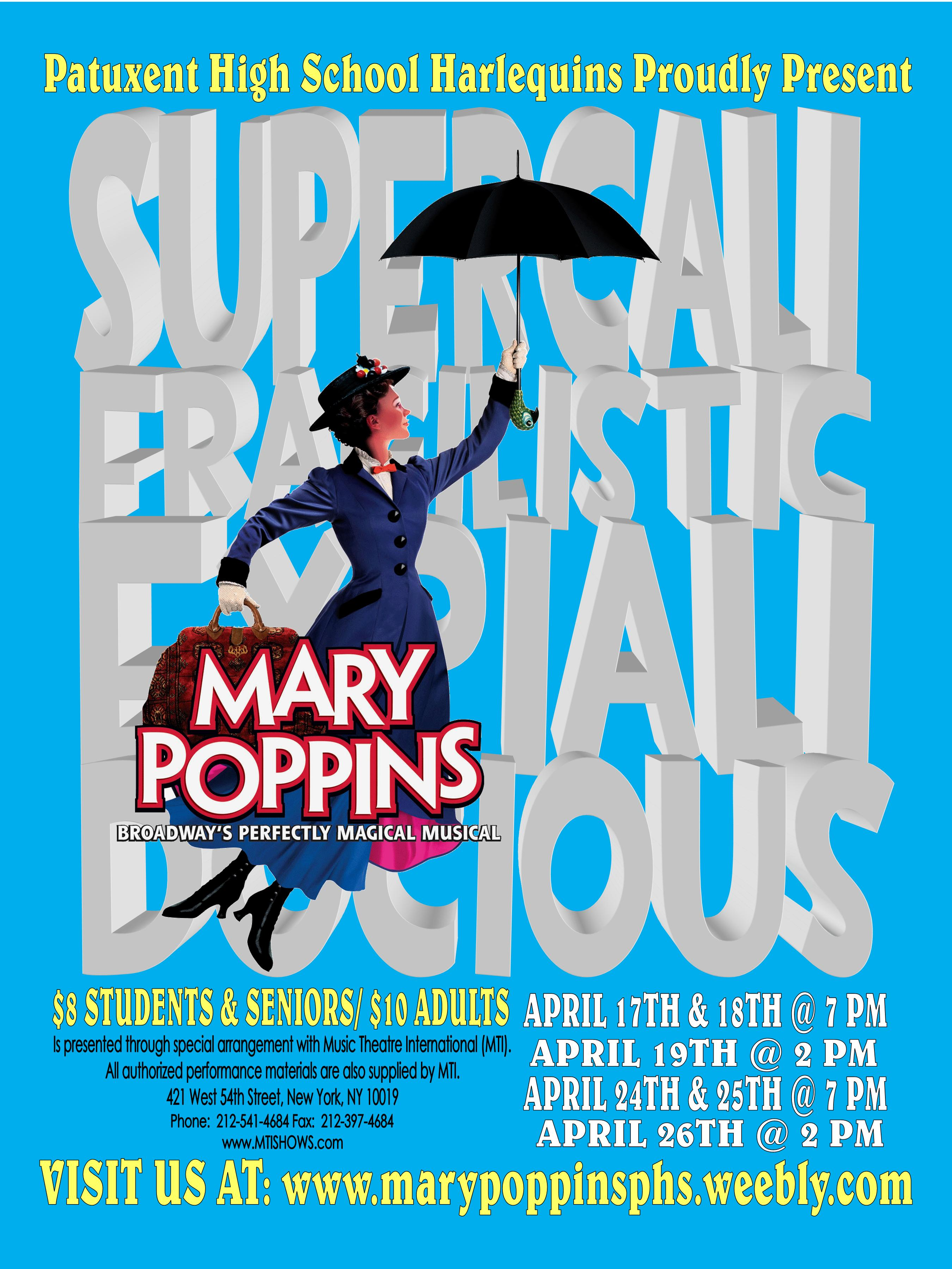 FILES - PATUXENT HARLEQUINS PRESENT MARY POPPINS